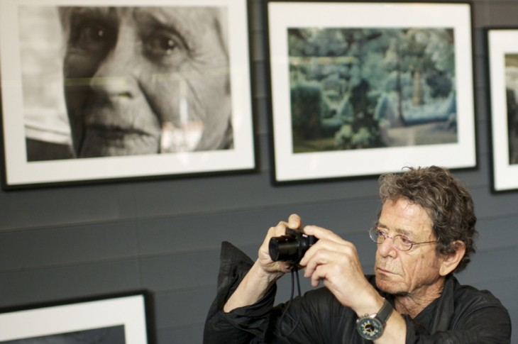Lou Reed in 2012 (Photo by Sean Thornton and WENN)