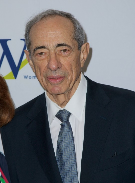 Photo of Mario Cuomo from 2013, in a nice blue suit